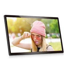 Supporto a 22 pollici fissato al muro LCD Wifi 110v-240V dell'opuscolo 1280*800 Android di VIF video
